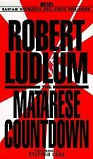 Robert Ludlum - The Matarese Countdown 1997, Audio Book 6 Cassette Tape Set
