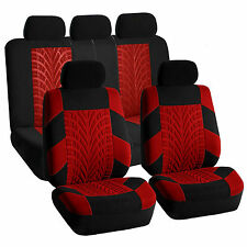 Black Red Car Seat Covers Travel Master for Honda Nissan Ford GMC Buick more