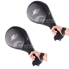 2X Taekwondo Double Kick Pad Target Tae Kwon Do Karate Kickboxing Practice 4IS0