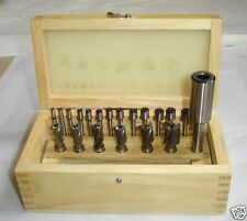 21pc HSS Interchangeable Pilot Counterbore Set by Amadeal