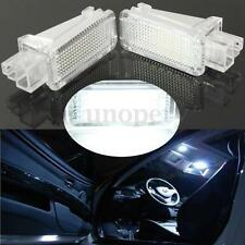 2x LED Courtesy Luggage Trunk Boot Footwell Door Light for Audi A3 A4 A6 A8 TT