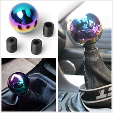 Colorful Chrome Ball AT/MT Car Vehicle Gear Shifter Shift Lever Knob Head JDM