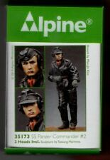 ALPINE MINIATURES 35173 - SS PANZER COMMANDER #2 - 1/35 RESIN KIT