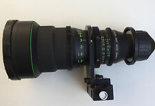 Canon Super16mm Lens 6-66mm T2.7 zoom lens - Metric Scale - PL Mount
