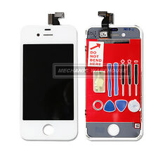 Replacement LCD Screen And Digitizer Display Lens For Apple iPhone 4 White Tools