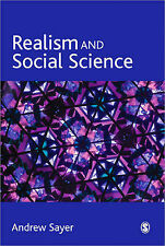 Realism and Social Science by Andrew Sayer (Paperback, 1999)