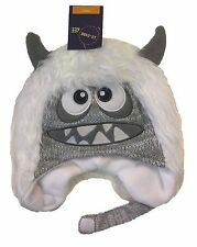 Toddler Kid Ear Flap Beanie Cap Knit Furry Winter Baby Infant Monster Hat