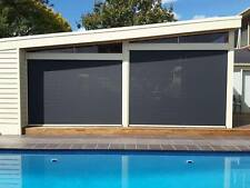 OUTDOOR BLINDS, ZIPTRAK, ALFRESCO, PATIO, PREMIUM QUALITY, INSTALLATION INCLUDED