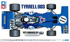 Tamiya 12054 1/12 F1 Model Kit Team Tyrrell 003 '71 w/PE Parts Jackie Stewart