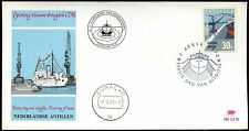 Netherlands Antilles 1972 New Dry Dock Complex FDC First Day Cover #C26631