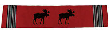 "Virah Bella® ""Red Moose"" Lodge Table Runner"