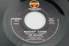 Joe Williams: Nobody Cares / How Could I Go On?   [Unplayed Copy]