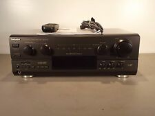 Technics SA-AX720 Audio Video Receiver with Remote and Manual Bundle