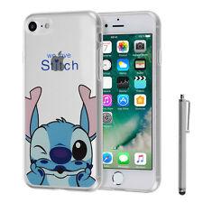 "Custodia Cover TPU Silicone Ultra-sottile Stitch per Apple iPhone 7 4.7"" +"