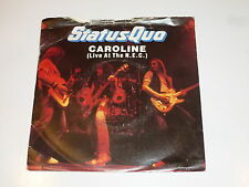 "STATUS QUO - Caroline - Original 1973 UK injection moulded 7"" Single in Sleeve"