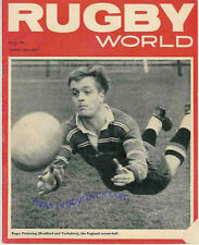 RUGBY WORLD MAGAZINE THE PERFECT GIFT FOR A RUGBY FAN BORN IN MAY 1967