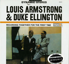 LOUIS ARMSTRONG/DUKE ELLINGTON Recording Together For the First Time 200g LP NEW
