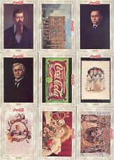 COCA COLA COLLECTION SERIES 1 1993 COLLECT-A-CARD BASE SET OF 100 AND POG SET