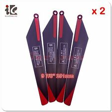 2 Sets Main Blades for Vitality Ferly JJ-H13 RC Helicopter Spare Parts
