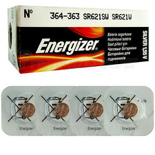 4 x Energizer Silver Oxide 364/363 batteries 1.55V SR60 SR621SW Watch EXP:2020