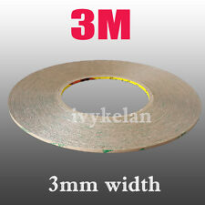 3M 9495LE 300LSE HEAVY DUTY Double-Sided Adhesive Tape Transparent 55M 3mm