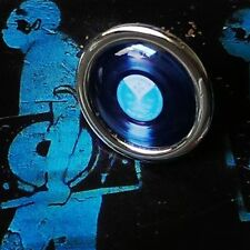 """Unique! VINYL RECORD LAPEL PIN cool DECKS music DJ dance 12""""  BADGE designer TIE"""