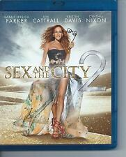 BLUE RAY - SEX and the CITY 2 - FRANCAIS ITAL ESPA DEU ENGL / NL