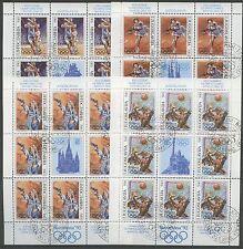 Olympiade, Olympic Games - Jugoslawien - 2538-2541 KB gestempelt used 1992