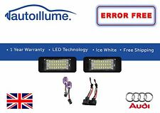 Audi A5 Canbus Compatible Number Plate 24 SMD LED Lights