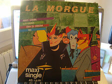 "RAR MAXI 12"". LA MORGUE. AVANZE SEMANAL. 4 TRACKS. MADE IN SPAIN"