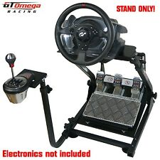 GT Omega Volant support PRO for Thrustmaster T500RS Course & TH8A manette
