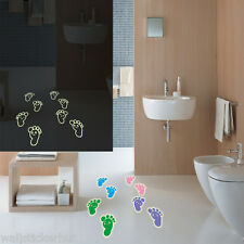Glow in Dark FootPrints UK Wall Sticker