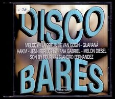 DISCO BARES - SPAIN CD Epic 2001 - Melody, Jennifer Lopez, La Oreja De Van Gogh