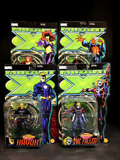 TOYBIZ PREVIEWS EXCLUSIVE X-MEN: MUTANT X FIGURE SET HAVOK BLOODSTORM FALLEN D90