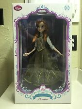 "Disney Store Anna Limited Edition 1/5000 Frozen Summer/Skating Doll 17"" NIB"