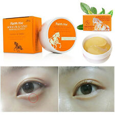 [Farm Stay] Horse Oil & Gold Hydrogel Eye Patch 90g (60 Sheets) Anti-Aging New
