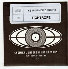 (GO498) The Unwinding Hours, Tightrope - 2010 DJ CD