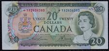 BANK OF CANADA - 1969 $20 Replacement Note Prefix *YA - Signed Lawson & Bouey