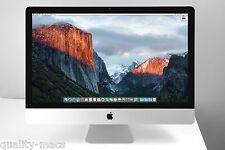 "SUPERB 27"" Apple iMac Core i7 3.4 - 3.8 GHz 1TB HDD + 256GB SSD 20GB RAM 1GB GFX"