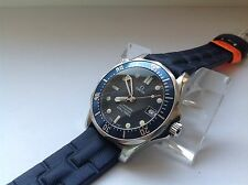 OMEGA SEMASTER James Bond 196.1522 Blue Wave Professional 300M Helium Esc. Diver