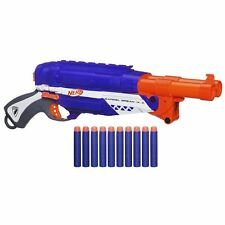 Brand New NERF Elite BARREL BREAK IX-2 Dart BLASTER Rare
