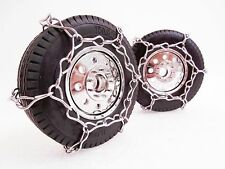 RC Tire Chain Fits Tamiya King Hauler 1/14 Scale Tires 2 STAINLESS Snow Chains