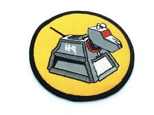 Doctor Who K9 Iron On Sew On Embroidered Patch