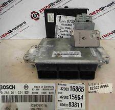 Renault Espace 2003-2013 1.9 dCi ECU SET UCH BCM Immobiliser + Key Card