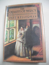 """SIGNED 1ST """"THE QUALITY OF MERCY"""" BY FAYE KELLERMAN! A MYSTERY W/ SHAKESPEARE!"""