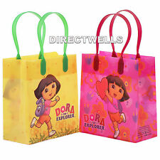 6 Pcs Dora The Explorer Licensed Small Party Favor Goodie Loot Bags