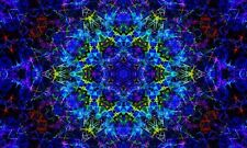 Psychedelic Trippy Art Fabric Silk Wall Poster Pictures Home Decor 24x36inch