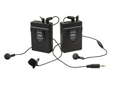 Wireless Lavalier Microphone - 2.4GHz - 150' Range - Fits most Canon/Nikon DSLR.