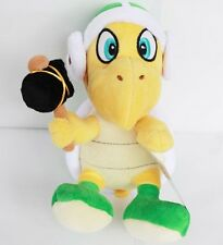 Hammer Koopa Troopa Super Mario Bros Plush Soft Toy Stuffed Animal Turtle New 8""