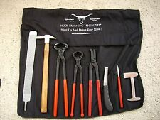 Farrier Kit 8 Piece Plus Folding Storage Bag